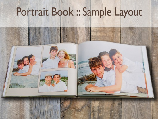 Portrait Book: Leather Cover | 004-PBook_Sytist_SampleLayout.jpg